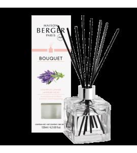 Bouquet parfumé Cube Champs de Lavande