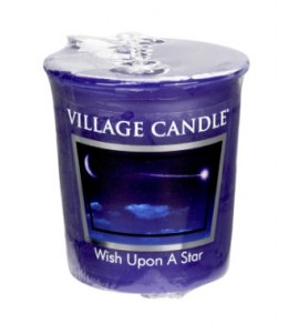 VOTIVE VILLAGE CANDLE WISH UPON A STAR
