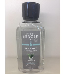 Recharge bouquet parfumé CITRONNELLE 200ml