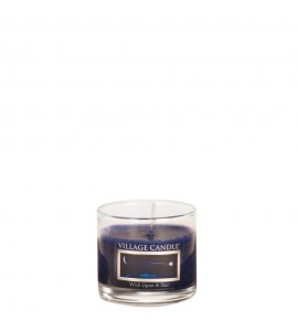 MINI GLASS VILLAGE CANDLE WISH UPON A STAR