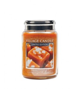 GRANDE JARRE VILLAGE CANDLE GOLDEN CARAMEL ED