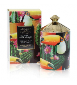 BOUGIE PARFUMEE WILD THINGS TOUCAN PLAY THAT GAME 320G