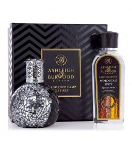 ASHLEIGH & BURWOOD LONDON COFFRET LAMPE A PARFUM LITTLE DEVIL & PARFUM EPICES MAROCAINES