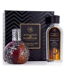 ASHLEIGH & BURWOOD LONDON COFFRET LAMPE A PARFUM VAMPIRESS & PARFUM EPICES MAROCAINES