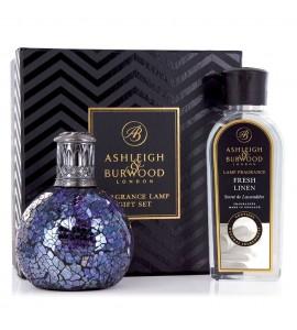 ASHLEIGH & BURWOOD LONDON COFFRET LAMPE A PARFUM ALL BECAUSE & PARFUM LIN FRAIS