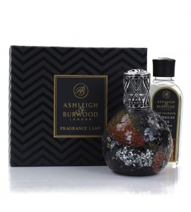 ASHLEIGH & BURWOOD LONDON COFFRET LAMPE A PARFUM LARGE ORIENTAL WOODLAND & PARFUM EPICES MAROCAINES