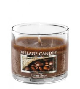 MINI GLASS VILLAGE CANDLE COFFEE BEAN