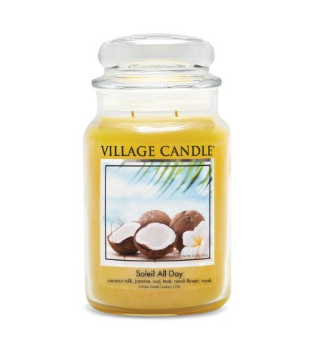 GRANDE JARRE VILLAGE CANDLE SOLEIL ALL DAY