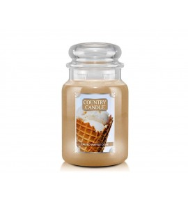 GRANDE JARRE COUNTRY CANDLE SALTED WAFFLE CONE