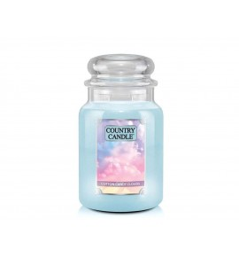 GRANDE JARRE COUNTRY CANDLE COTTON CANDY CLOUDS